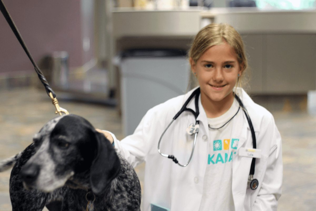 Veterinarian for a Day